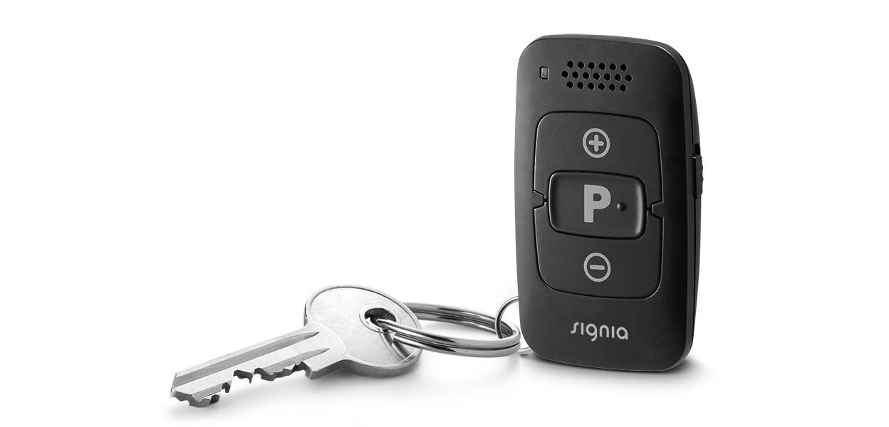 signia minipocket hearing aid control